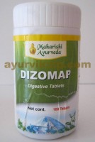 Maharishi Ayurveda DIZOMAP, 100 Tablets, Improves Digestion
