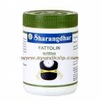 Sharangdhar, FATTOLIN, 120 Tablet, Over Weight