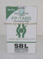 SBL Homeopathy, FP-TABS Tablets, 25 gm, Anti-Haemorrhoids