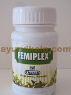 Charak Femiplex Tablets | vaginal discharge cure | yeast infection
