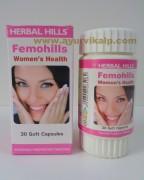 Herbal Hills, FEMOHILLS, 30 Soft Capsules, Womens Health