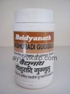 GOKSHURADI Guggulu (Siddha Yog Sangrah)  Baidyanath, 80 tablets
