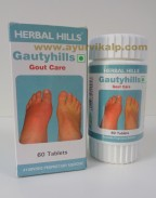 Herbal Hills, GAUTYHILLS, 60 Tablets, Gout Care