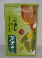 GIRNAR, Instant Premix Tea with CARDAMOM 10 Single Serve Sachets
