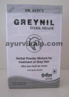 Dr. Jain's GREYNIL Dark Shade, 100gm, Hair Colour