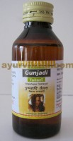 Nagarjun GUNJADI Tailam, 100ml, for Hair falling & Prurities In Head