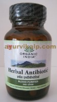 Organic India HERBAL ANTIBIOTIC, 60 Capsules, Blood Purifier
