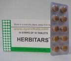 J & J Dechane, HERBITARS, 100 Tablets, Liver Disorders