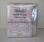 Gokul, Herbal Infusion, HIBISCUS TEA, 20 Tea Bags, For Hyper Tension