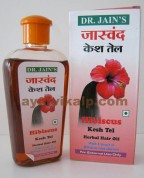 Dr. Jain's HIBISCUS Hair Oil for Dandruff, Grey Hair