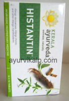 HISTANTIN, Kerala Ayurveda, 100 Tablets, Anti Allergic, Chronic Urticaria