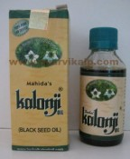 Herbal KALONJI Oil, 100 ml, for Hair Problems & Hypertension