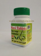 Shriji Herbal, NOSI, 50 Tablets, For Cold, Cough, Sinusitis