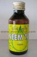 NEEM OIL, Azadirachta Indica, 100ml Auyrvedic Medicine