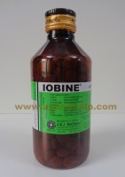J & J Dechane, IOBINE, 300 Tablets, Cold And Allergies