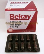 BEKAY, 100 Capsules, Hepato Protector Recommended for Vitiligo Patients as Co therapy