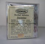 Gokul Herbal Infusion JASMINE, 20 Tea Bags, For Water Retaintion & Sleep Disorders