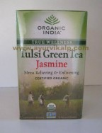 Organic India, TULSI GREEN TEA JASMINE, 18 Tea Bags, For Cough & Colds, Energy Level