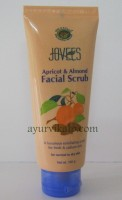 jovees apricot and almond facial scrub | face scrub