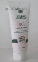 Jovees FOOT Cream & Scrub A Unique 2 in 1 Formula 60gm