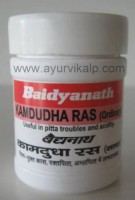 KAMDUDHA Ras Ordinary Ayurveda Saar Sangrah Baidyanath, 40 Tablets