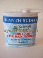 Maharishi Ayurveda KANTH SUDHA, 50 Pills, Relieve Tonsilitis, Laryngitis