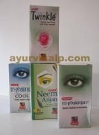 khojati eye drops | triphalanjan eye drops | twinkle eye drops