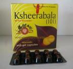 Arya Vaidya Pharmacy, KSHEERABALA (101), Ayurvedic Soft Gel 100 Capsules, Nervine Tonic