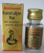 KUMARKALYAN Ras (Bhaishajya Ratnavali) Baidyanath, 5 Tablets