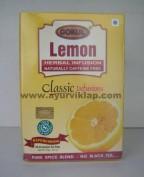 Gokul, Herbal Infusion, LEMON, 20 Tea Bag, Naturally Caffeine Free, Pure Spice Blend, Refereshing