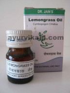 Dr. Jain's LEMONGRASS Oil, 5ml, Antiseptic, Astringent
