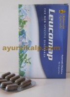 Maharishi Ayurveda LEUCOMAP, 60 Capsules, for Leucorrhoea, Low Backache & Menstrual Irregularity