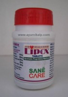 Sane Care, LIPOX, 40 Tablets, Dyslipedemia