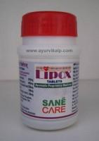 Sane Care, LIPOX, 40 Tablets, Dyslipedemia