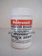 MANDOOR Bhasma Rasendra Saar Sangraha Baidyanath, 10 g