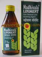 Remedies MADHIVALA Liniment - Relief of Pain In Muscles, Nerves, Gout, Sciatica