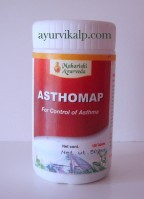 Maharishi Ayurveda ASTHOMAP, 100 Tablets, for Control of Asthama