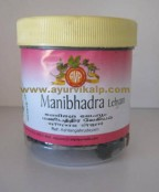 Arya Vaidya Pharmacy, MANIBHADRA LEHYAM, 250 gm, Useful In Skin Diseases, Diabetic, Scabies
