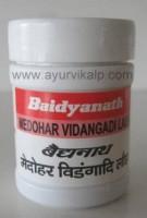 MEDOHAR VIDANGADI Lauh (Ayurved Sar Sangraha) Baidyanath, 40 Tablets