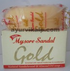 Mysore Sandal GOLD Soap, 125g, Natural Sandalwood & Almond Oil Soap