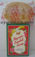 Mysore Sandal Soap, 125g, Only Soap with Pure Sandalwood Oil