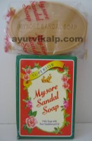 Mysore Sandal Soap, 75gm, Soap with Pure Sandalwood Oil