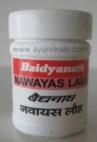 NAWAYAS Lauh (Bhaishajya Ratnavali) Baidyanath, 40 Tablets