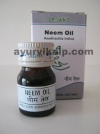 Dr. Jain's NEEM Oil, 5ml, Antiseptic, Antiviral
