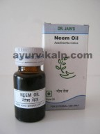 Dr. Jain's NEEM Oil, 10ml, Antiseptic, Antiviral