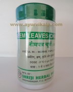 Shriji Herbal, NEEM LEAVES CHURNA, 100g, Skin Disease