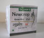 Dr. Jain's NEWCROP Grow Hair Gel, 100 g,For Stops Hair Fall, Indigo + Amla + Maka+ Neem
