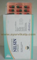 S.G Phyto, NILSIN CAPSULES, 30 Capsules, For Chronic Sinusitis and Rhinitis