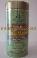 Organic India TULSI GREEN Tea, 100gm, Rich In Antioxidants