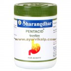 Sharangdhar PENTACID, 120 Tablets, Acidity, Bleching